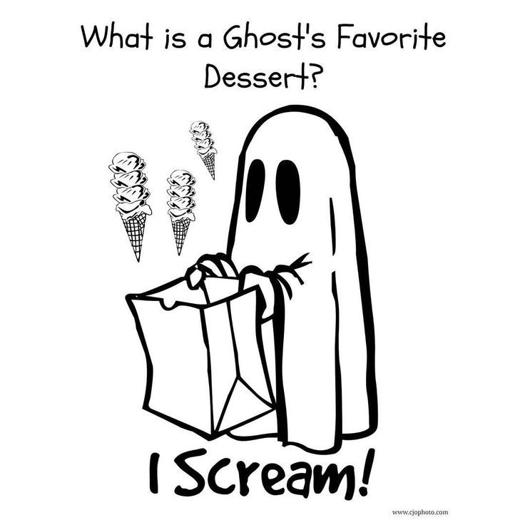 What Is A Ghost S Favorite Dessert Ghost Halloween