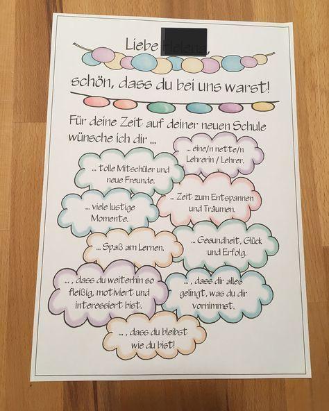 Ich liebe die Designs von @diegrundschulkiste. Danke für die tollen Bilder! Im Moment benutze ich es zum Abschied einer Schülerin, die sich in den Ferien bewegt. Ich werde ein Portfolio mit liebevollen Worten von mir erstellen und
