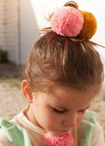 Pom pom hairbands