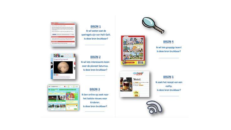 Groep 4: Welke bronnen in de media zijn betrouwbaar