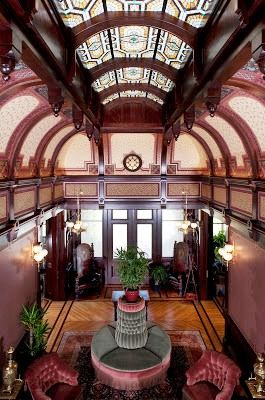Aesthetic Movement The Main Hall The Macdonald Mansion / http://www.pinterest.com/pin/138837600986172656/