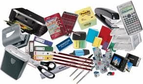 Lots of classroom, office supplies are available.