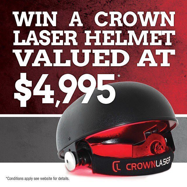 #australianmade #thickerlongerstrongerhair #winyourhairback @ihlsaustralia @platinum_hair_products  WIN A CROWN LASER HELMET VALUED AT $4995 Were giving away one CROWN LASER HELMET each month valued at $4995!  There are multiple ways to enter the draw in any calendar month. You can either:  Book and attend a free consultation; Buy a Crown Laser Helmet (to win your money back); Visit one of our growth consultants; See our Doctor; or Spend $100 or more in-studio or in the online store. For…