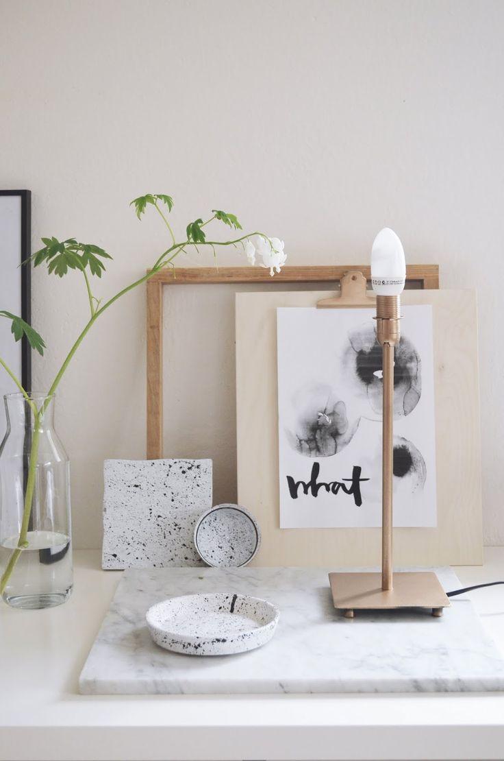 DIY | RECYKLACE | STRUKTURA KAMENE | GOLD | Jane at home