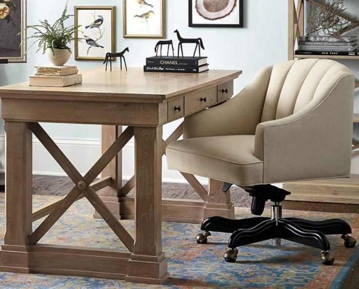 18 modern farmhouse office chairs for your workspace