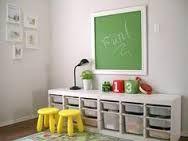 Afbeeldingsresultaat voor opbergen speelgoed woonkamer