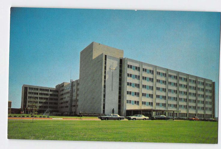Jackson, Mississippi, MS, St Dominic Jackson Health Services by ABarnFullofPostcards on Etsy