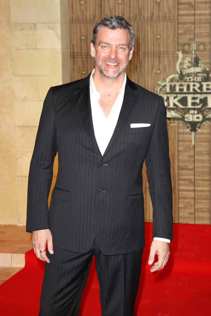 Ray Stevenson at the London premiere of The Three Musketeers.