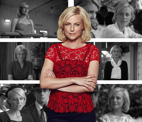 Marta Dusseldorp as Sarah Adams in A Place to Call Home