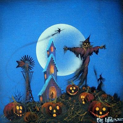 111 best Halloween Scenes images on Pinterest | Halloween ...