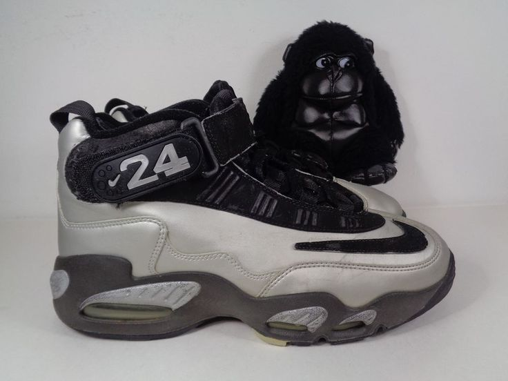 Mens Nike Air Griffey Max 1 Metallic Platinum 2010 Basketball shoes size 10 US