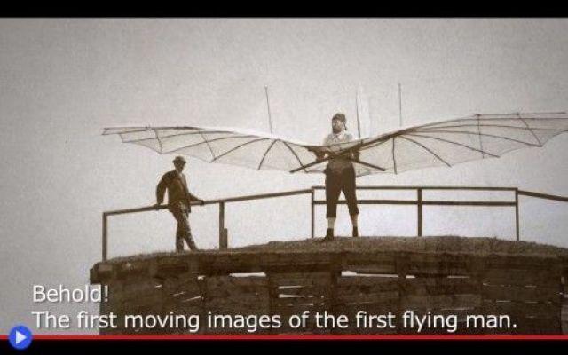 L'unico video e l'ultimo volo del creatore degli alianti Molti grandi momenti della storia sono stati segnati dalla messa in funzione di una macchina, che fosse letteralmente in grado di spostarsi lungo un asse precedentemente ritenuto irraggiungibile. Con #volo #aeronautica #alianti #storia