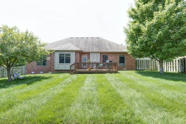 First class neighborhood with easy access to all the conveniences. Classic all brick home ready for quick occupancy. Professional landscaping surrounds this home with in-ground sprinkler system, manicured shrubs and tasteful outdoor decor. Once inside you feel the flow and spaciousness of this home with vaulted ceilings, hardwood floors and window treatments. You can enjoy formal and informal dining from designer kitchen with corian countertops, efficient appliances and ample…