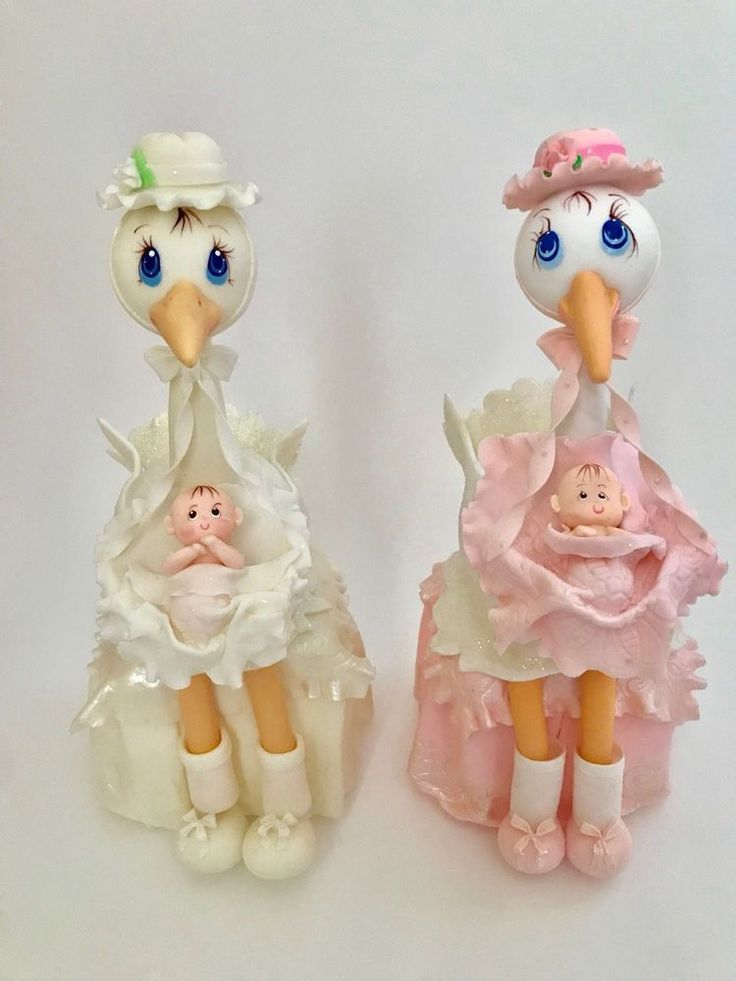 Stork  And Baby Cake Topper,Baby Shower,Party