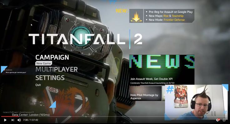 I checked out a Titanfall game for the first time ever - Titanfall 2! Here's the full stream! :)  https://youtu.be/29_SqBILWUE #titanfall2 #streaming #gamer #gaming #gameplay #twitch #titanfall