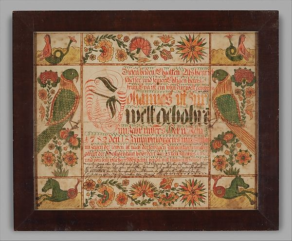 101 best Fraktur images on Pinterest Folk art, Popular art and Art - best of good standing certificate pa