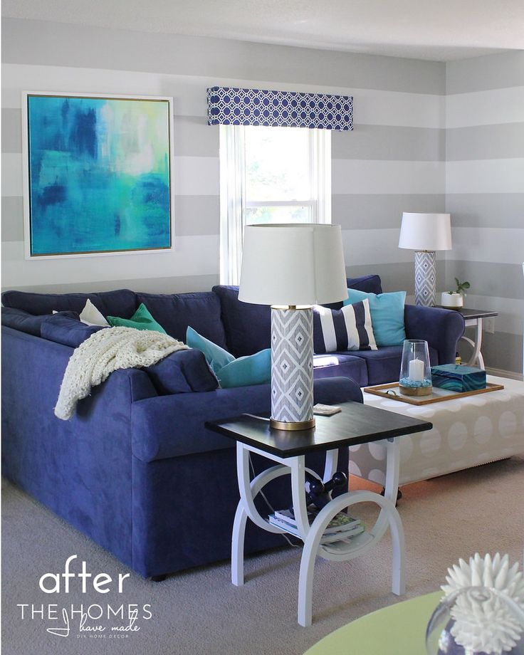 1000 Ideas About Navy Family Rooms On Pinterest Paint