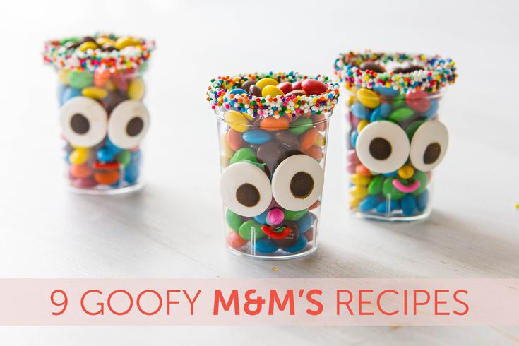 These creative M&M's recipes will have you running to the store for a bag ... or four! Get inspired, only at Babble!