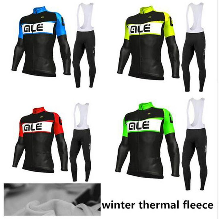 2017 New Winter Cycling clothing thermal fleece cycling jersey long sleeves Ropa ciclismo invierno hombre mountain bike sport #Affiliate