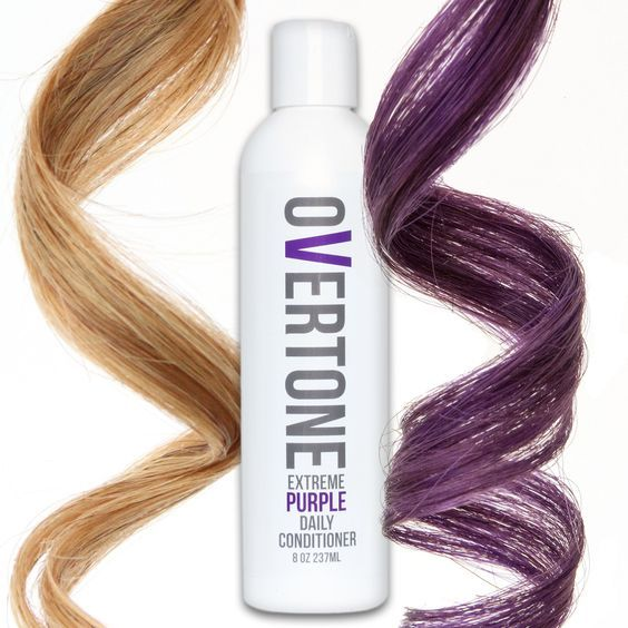 Love a striking violet shade? Use our Daily Conditioner whenever you shampoo! The Daily Conditioner gently deposits color to replenish what washing your hair removes. Enjoy your color looking fresh ev