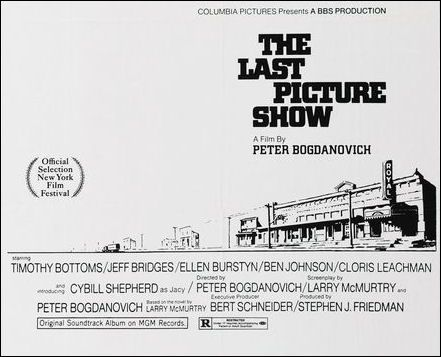 the last picture show by larry mcmurty essay Larry mcmurtry born: larry jeff and was billed as the last booksale in keeping with the title of mcmurtry's the last picture show essays on texas.