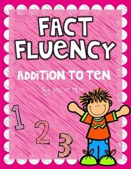 Addition Fact Fluency Pack