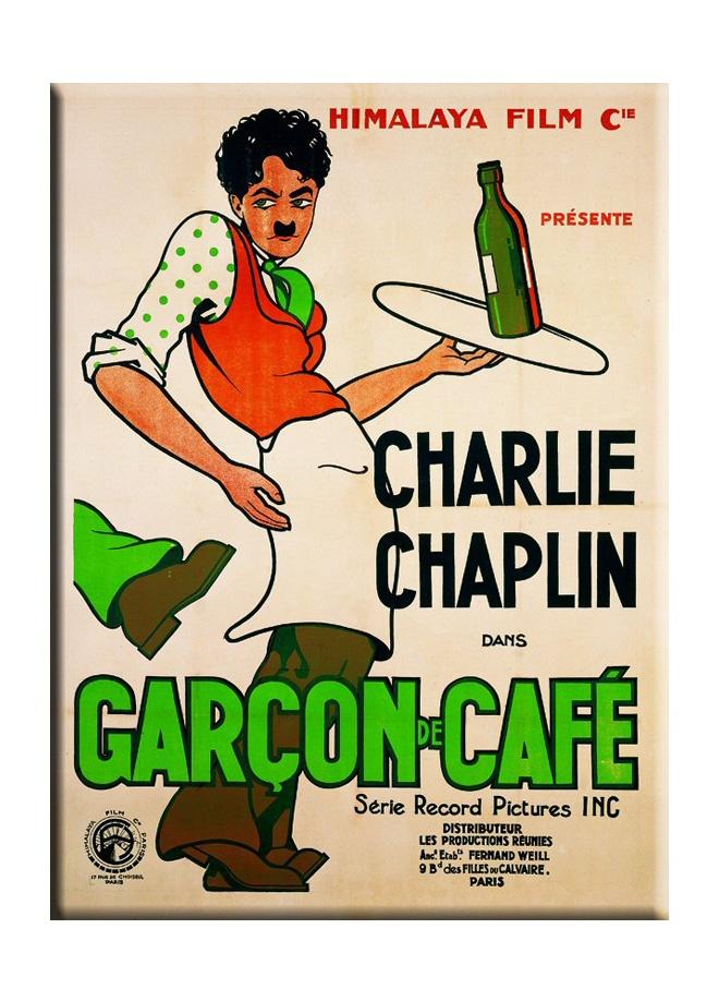 French Vintage Metal poster - charlie chaplin garcon de cafe 15 x 21 cm Markafoni'de 21,99 TL yerine 13,99 TL! Satın almak için: http://www.markafoni.com/product/3266935/