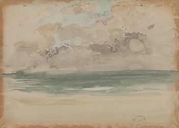 Американское искусство | океанская волна | F1906.54a-B