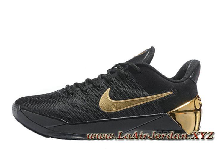 Nike Kobe A.D Noire Or Chaussures Officiel Prix Pour Homme Noir