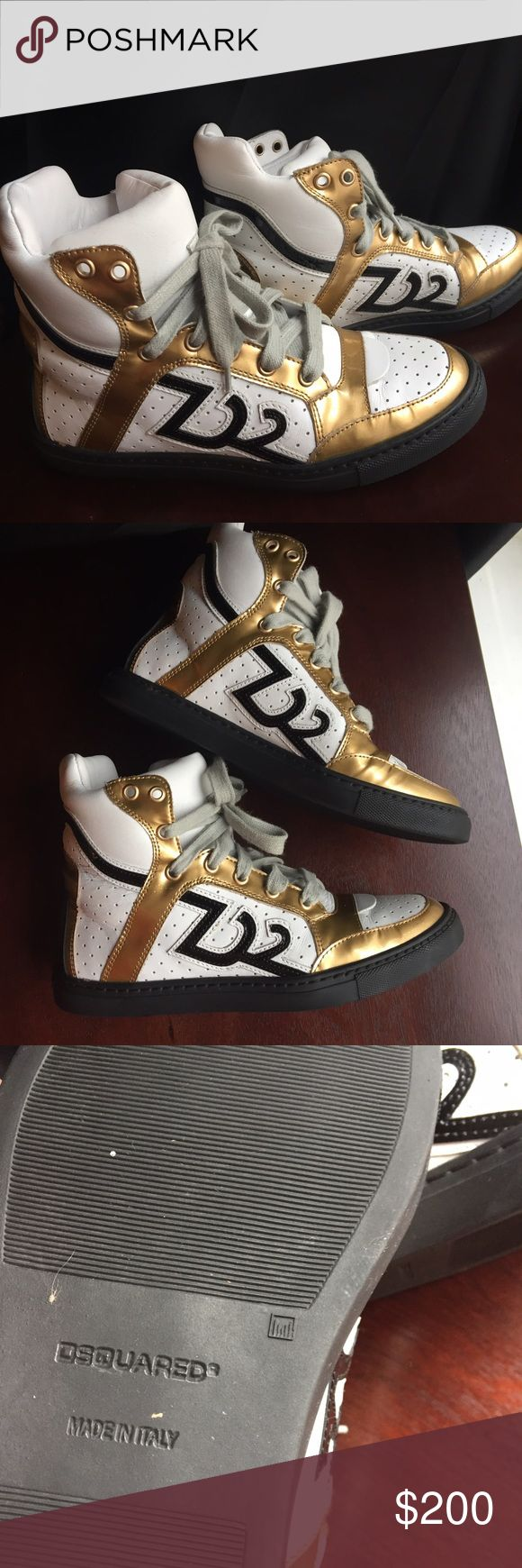 Dsquared sneakers Worn 2x times. Excellent condition. DSQUARED Shoes Sneakers