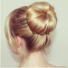 Image result for high sock bun-Bridemaids