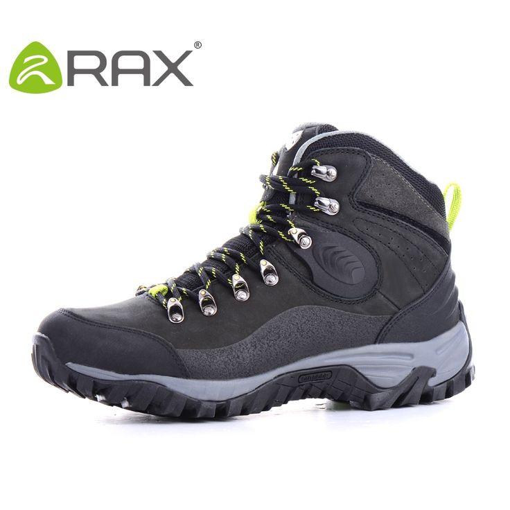 (51.70$)  Buy here  - RAX V-TEX Waterproof Hiking Shoes Men Leather Winter Shoes Winter Outdoor Climbing Walking Boots Men trekking shoes 34-5P160