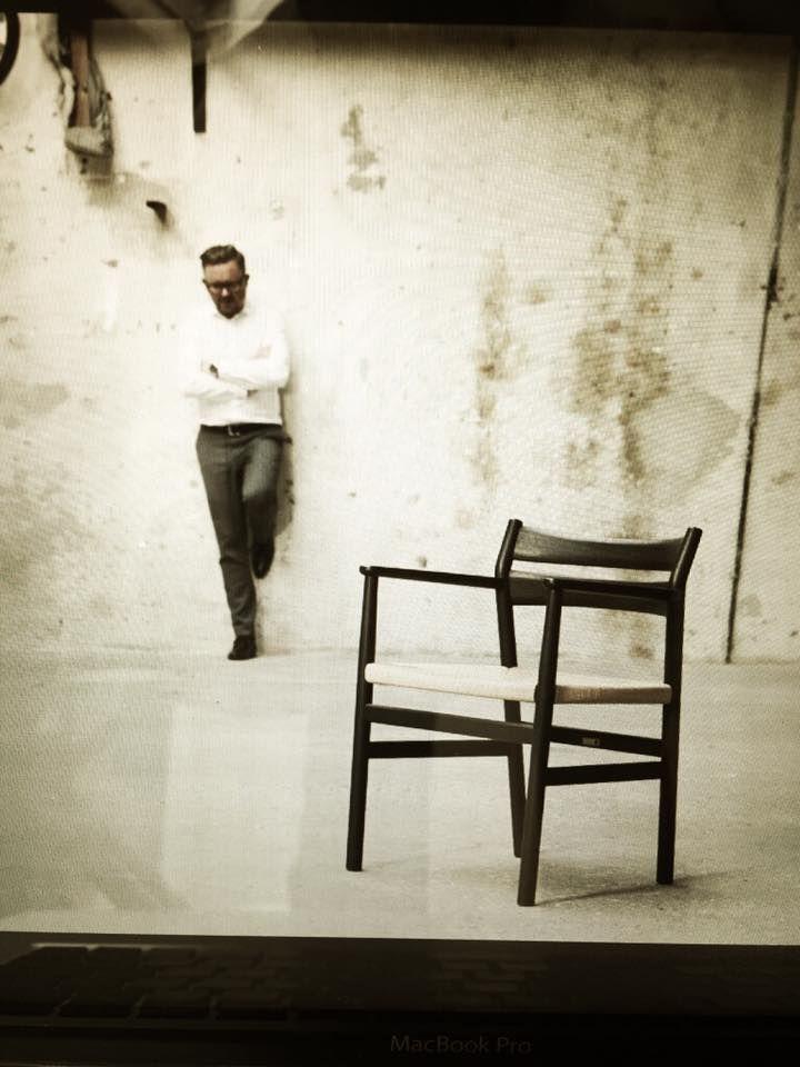 dk3_design_furniturePosing for @delightmagazinedk 🤓 #dk3 #delightmagazinedk #bm2chair #jacobplejdrup www.dk3.dk
