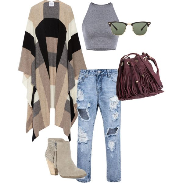 City fall by sabrina-sultzer on Polyvore featuring polyvore, Mode, style, Madeleine Thompson, Sole Society, H&M and Ray-Ban