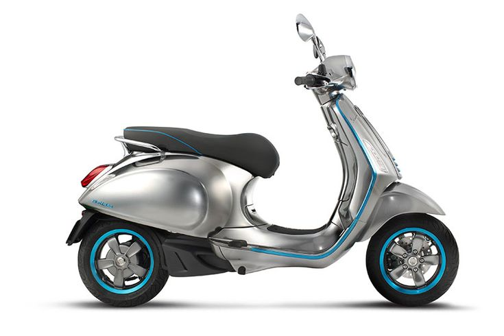 Die Vespa fährt künftig auch mit Elektroantrieb - kurier.at