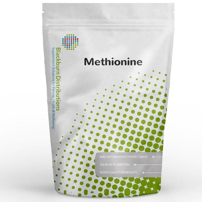 DL-Methionine is classed as an essential amino acid and cannot be synthesized by the body itself. Learn more: http://www.blackburndistributions.com/methionine-powder.html