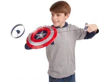 Escudo Lança Disco Capitão América - Marvel Avengers Age Of Ultron Hasbro