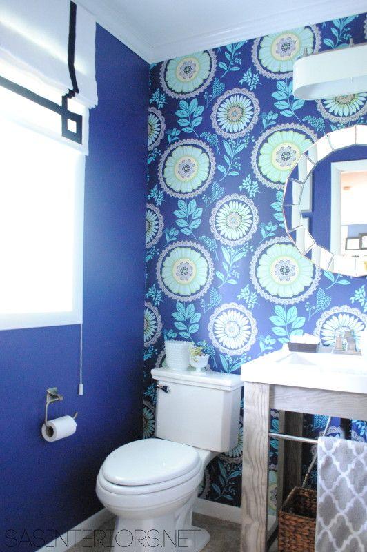 blue-wallpapered-powder-room
