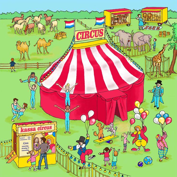 vertelplaat circus - Google zoeken
