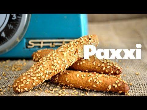 Κλασικά λαδερά κουλουράκια με σουσάμι - Paxxi Ε51 - Classic oliveoil and sesame biscuits - YouTube