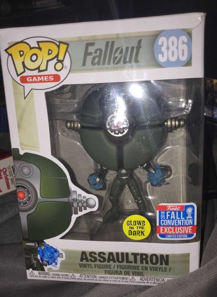 Funko Pop Fallout Assaultron Fall Convention Exclusive Figure