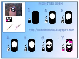 Monster High Nails | Nail Art Gallery Manicurarte