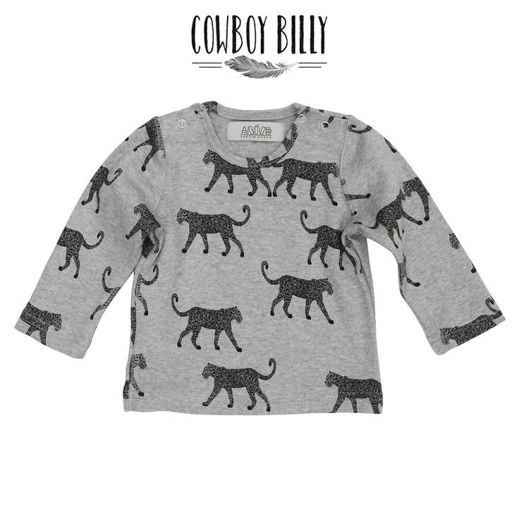 Anive for the Minors ◊ Leopard Longsleeve www.cowboybilly.nl