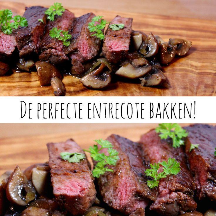 De perfecte entrecote bakken!