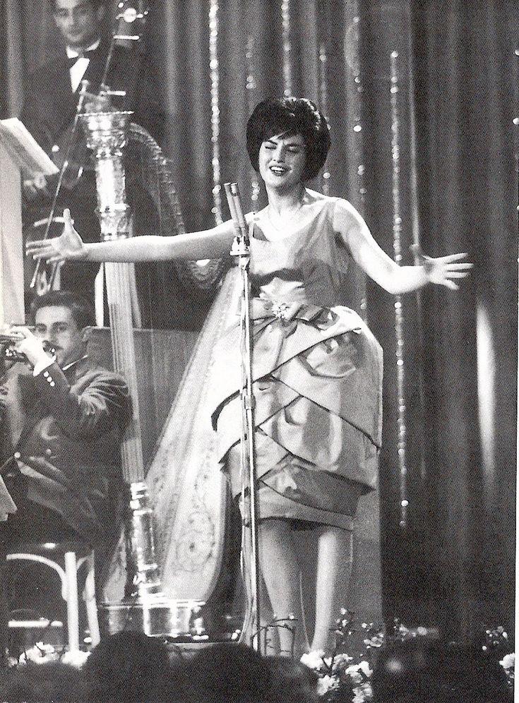 Mina a Sanremo nel 1960