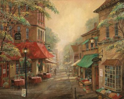 Charlie's Cafe by Ruane Manning