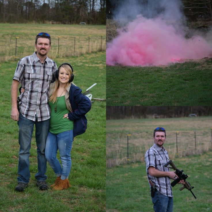 Tannerite and chalk gender reveal. It's a GIRL!!!
