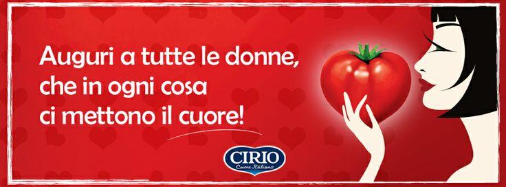 Auguri a tutte le donne! Con tutto il ❤️ www.cirio.it