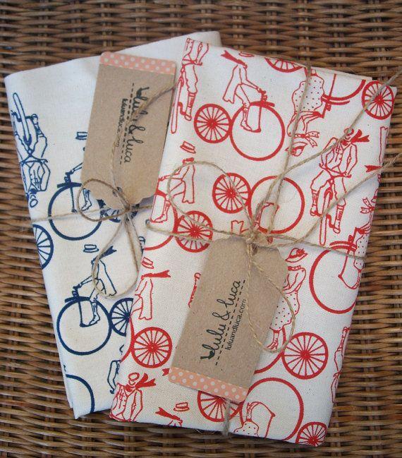 bicycle print tea towels @b R O O K E // W I L L I A M S Bennett