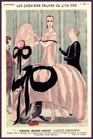 Jeanne #Lanvin in a 1920s advertising